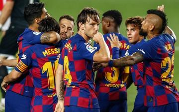 Barca thoát hiểm đầy kịch tính trong ngày sinh nhật Messi