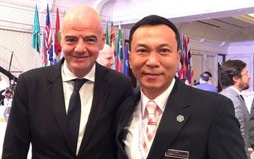 Gặp khó khăn vì dịch Covid-19, Liên đoàn bóng đá Việt Nam nhận 1,5 triệu USD tiền hỗ trợ từ FIFA