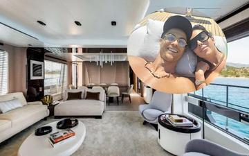 """Bên trong chiếc du thuyền có giá hàng trăm tỉ đồng Ronaldo và gia đình dùng để """"chill"""" sau những mùa giải dài đằng đẵng"""