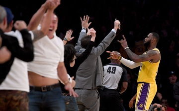 LeBron James bộc bạch nỗi niễm trong chuỗi ngày thi đấu vắng bóng NHM tại khu cách ly