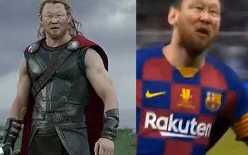 """Hài hước: Video HLV Park Hang-seo hóa thần Thor cực ngầu, khi """"hô biến"""" thành Messi còn bất ngờ hơn"""