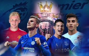 """Đội hình tân binh đáng mong chờ nhất Premier League mùa giải 2020-21: Nhà nhà thi nhau """"chạy đua vũ trang"""", ĐKVĐ vắng bóng"""