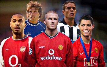 Top 5 cầu thủ sút phạt tốt nhất lịch sử Ngoại hạng Anh: Beckham vô đối