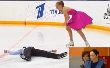 VĐV trượt băng nghệ thuật bị chấn động não sau tai nạn bất ngờ ngay trên sàn diễn