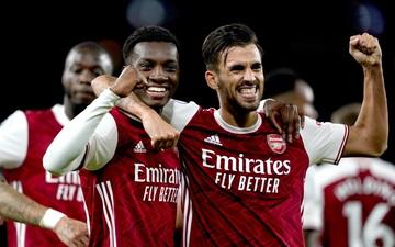 Bàn thắng phút 85 giúp Arsenal tiếp tục bay cao, vươn lên áp sát ngôi đầu Ngoại hạng Anh