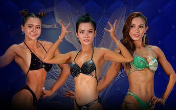 4 hot girl mặt xinh, dáng siêu nuột nà tại giải nữ body fitness Quốc gia 2020