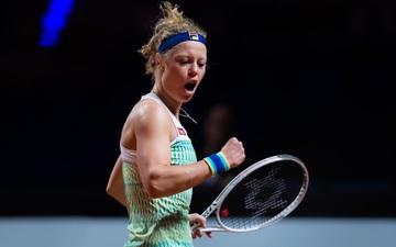 Tay vợt nữ người Đức bị chỉ trích thậm tệ vì tình huống siêu nhạy cảm trên sân