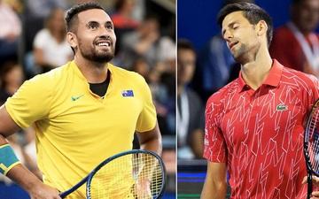 """Giới quần vợt """"sục sôi"""" vì tình huống Djokovic đánh bóng trúng cổ nữ trọng tài"""
