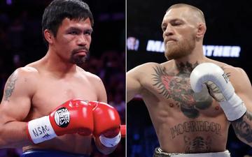 Manny Pacquiao mở đường cho trận đại chiến với Conor McGregor: Tôi muốn đối đầu cùng một tay đấm MMA