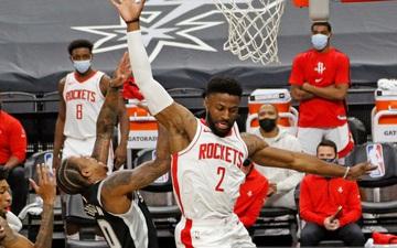 """Hậu James Harden """"nhảy thuyền"""", Houston Rockets có được chiến thắng đầu tay trước San Antonio Spurs"""