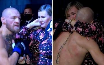 Xúc động khoảnh khắc vị hôn thê Dee Devlin bật khóc, an ủi McGregor sau trận thua sốc trước Poirier