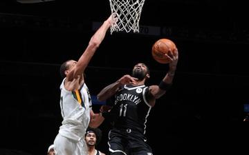 """Thiếu vắng Kevin Durant, Brooklyn Nets bất ngờ """"hủy diệt"""" Utah Jazz trong ngày Kyrie Irving tỏa sáng"""