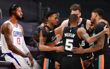 Không Paul George, Los Angeles Clippers thất trận trước San Antonio Spurs