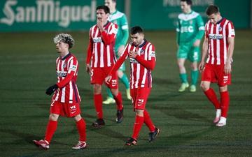 Đội dẫn đầu La Liga thua sốc đối thủ đến từ giải hạng 3