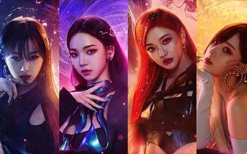 4 cô gái xinh đẹp của nhóm Aespa trình diễn tại trận chung kết LMHT: Tốc Chiến SEA Championship 2021