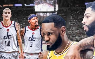 Kyle Kuzma so sánh Bradley Beal ngang hàng với LeBron James và Anthony Davis