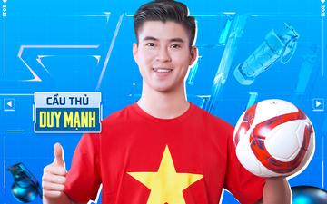 Cầu thủ Duy Mạnh đồng hành cùng 4 đội PUBG Mobile Việt Nam tại đấu trường quốc tế