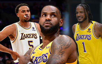 Los Angeles Lakers thiệt quân trước thềm mùa giải 2021-2022