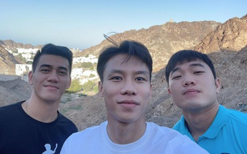 Tuyển Việt Nam đi tham quan tại Oman trước ngày về nước