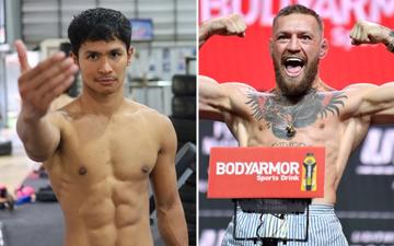 """Cựu kickboxer số 2 thế giới Superbon Banchamek tự tin đánh bại Conor McGregor nếu đấu theo luật """"đặc biệt"""""""