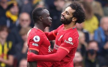 """Tam tấu Salah - Mane - Firmino giúp Liverpool hủy diệt màn ra mắt của """"Gã thợ hàn"""" Claudio Ranieri"""