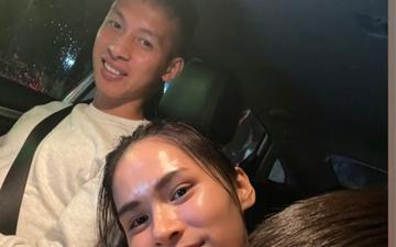 Vợ và con trai hạnh phúc đón Hùng Dũng về nhà  nghỉ ngơi cuối tuần