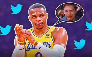"""Russell Westbrook hứng trọn gạch đá từ fan Los Angeles Lakers sau màn """"quăng tạ"""" trong ngày ra quân"""