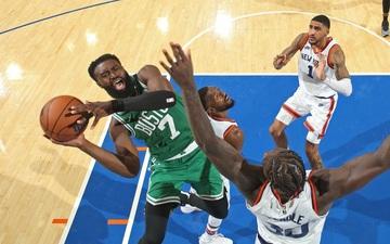 Jaylen Brown thiết lập kỷ lục cá nhân, Boston Celtics thua đau trong trận ra quân ở NBA 2021-2022