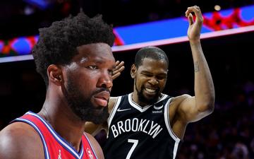 Dẫn trước đến 10 điểm, Philadelphia 76ers vẫn thua sốc trước Brooklyn Nets ngay tại sân nhà