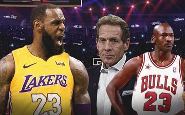"""Skip Bayless: """"Cầu thủ ngày nay không thèm tôn trọng LeBron James. Chẳng ai dám làm thế với Michael Jordan cả"""""""