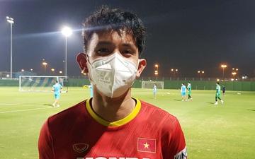 """Hồng Duy: """"Đội tuyển Trung Quốc mạnh nhưng chúng tôi quyết tâm giành chiến thắng về cho tuyển Việt Nam"""""""