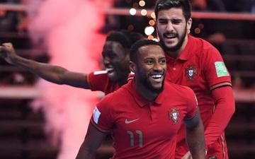 Futsal Bồ Đào Nha giành chức vô địch World Cup 2021