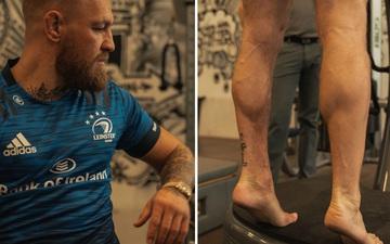 Conor McGregor hồi phục nhanh chóng, đã có thể tập bài nhún chân
