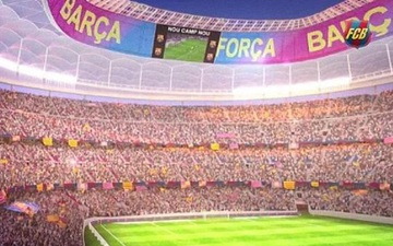 Nợ ngập đầu, Barcelona vẫn tính vay thêm 1,5 tỉ Euro để sửa sân Camp Nou