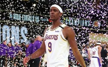 """Rajon Rondo """"rơm rớm nước mắt"""" trong ngày trở lại sân nhà Los Angles Lakers"""
