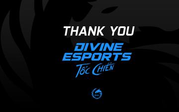 Divine Esports bất ngờ giải thể đội LMHT: Tốc Chiến