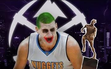"""Nikola Jokic tiếp tục đua MVP bằng màn trình diễn """"quái vật"""" trước Utah Jazz"""