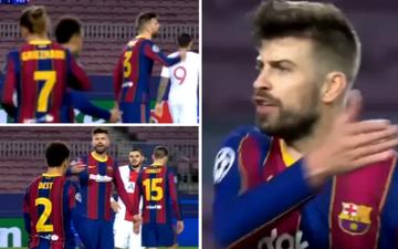 """Đồng đội Messi mắng chửi nhau như """"mổ bò"""" trên sân, bảo sao Barca không thua thảm"""