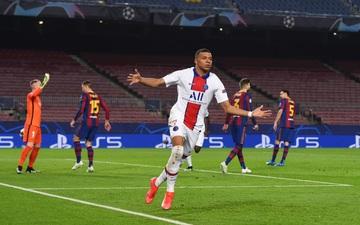 """Loạt thống kê ấn tượng của Kylian Mbappe, ngôi sao vừa """"nhấn chìm"""" Barca ở Champions League"""
