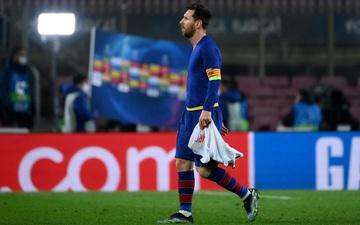 Messi lủi thủi rời những bước chân cuối trong màu áo Barca ở Champions League?