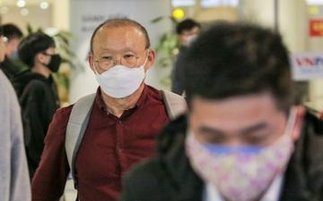 HLV Park Hang-seo trở lại Việt Nam, đón Tết trong khu cách ly