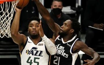 Vững vàng trên vạch ném phạt, Los Angeles Clippers chặn đứng chuỗi 9 trận thắng của Utah Jazz