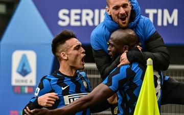 Song sát Lu - La chói sáng, Inter Milan quật ngã AC trong trận cầu 6 điểm tranh chức vô địch