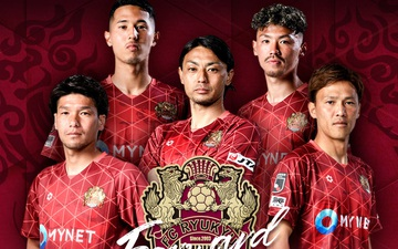Những điều thú vị về FC Ryukyu, đội bóng vừa chiêu mộ hai tuyển thủ Việt Nam