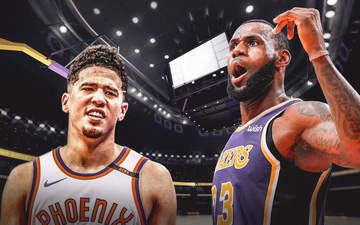 LeBron James bất bình khi Devin Booker không xuất hiện trong danh sách cầu thủ dự bị All-Star 2021
