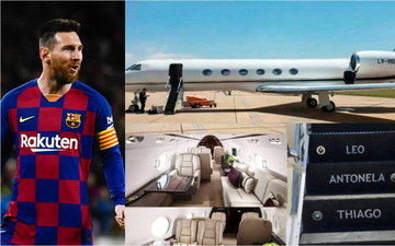 Tổng thống Argentina thuê chuyên cơ của Messi đi công tác