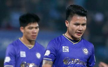 """Hà Nội FC đang khủng hoảng, Quang Hải và đồng đội gặp vận may """"Dèjá vu"""""""