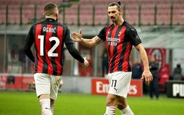 Ibra lập cú đúp, AC Milan đại thắng và đòi lại ngôi đầu bảng