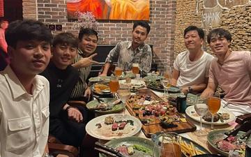 Minh Vương ăn tất niên cùng Văn Toàn và nghệ sĩ hài Trường Giang