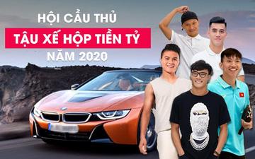 """5 cầu thủ Việt Nam tậu """"xế hộp"""" tiền tỷ trong năm 2020"""